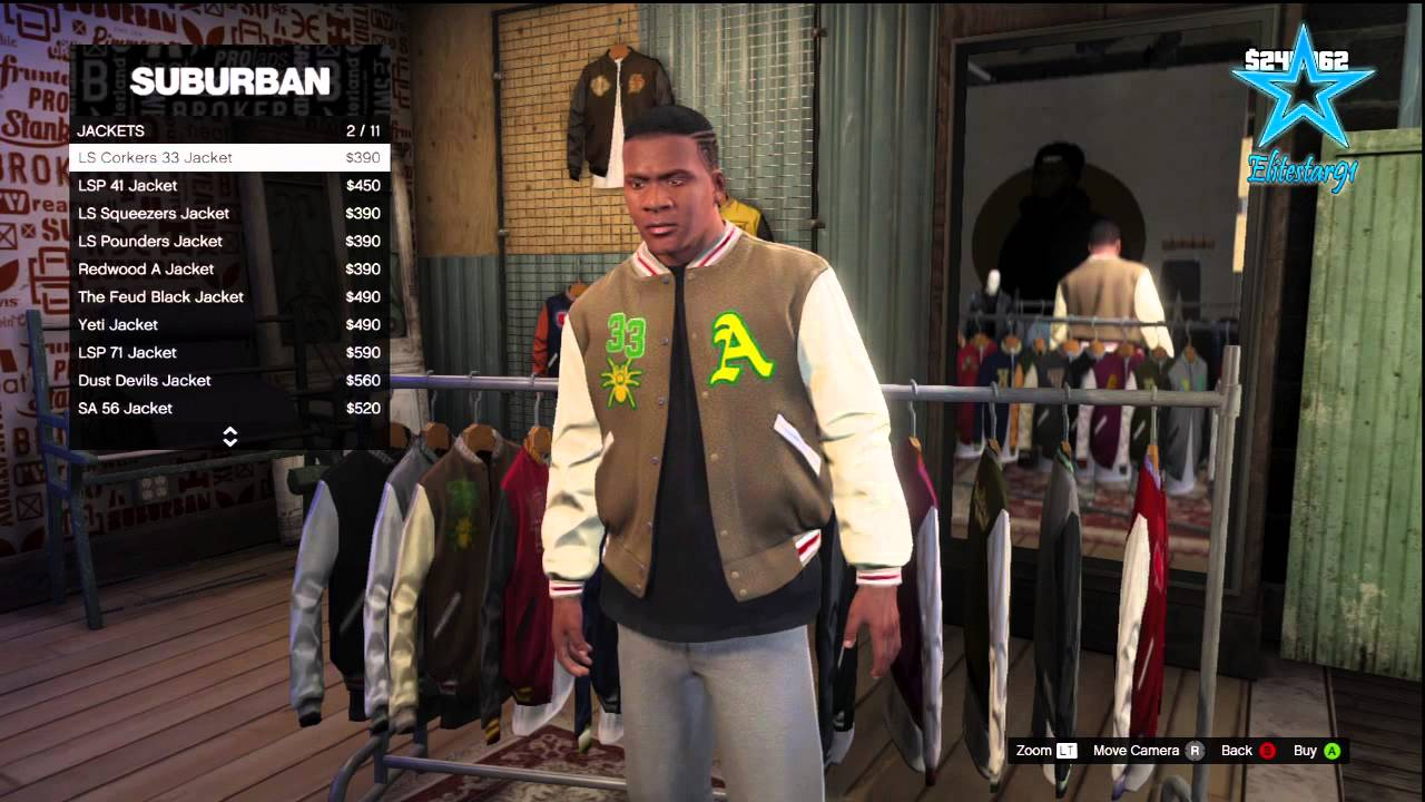Grand Theft Auto San Andreas Clothing Stores Locations