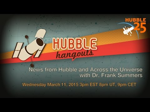 News From Hubble and Across the Universe - March 2015