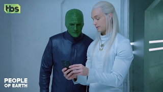 People Of Earth: Humans with Don- What is Tinder? [CLIP] | TBS