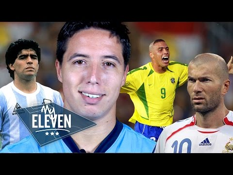 Samir Nasri picks his greatest ever team | Ronaldo, Maradona, Zidane & more!
