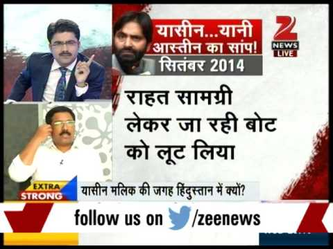 Separatist Yasin Malik openly abuses Indian Army