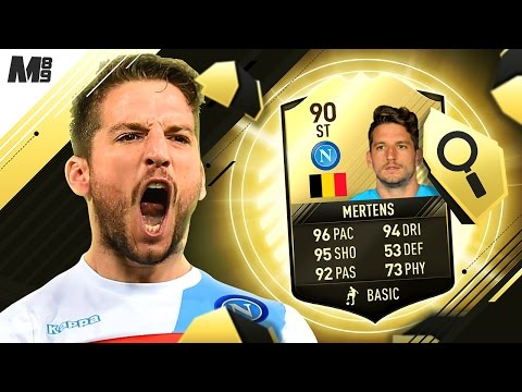 FIFA 17 90 MERTENS REVIEW | 90 MERTENS | FIFA 17 ULTIMATE TEAM PLAYER REVIEW