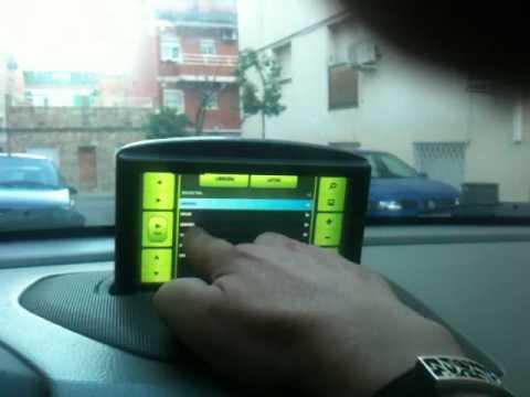 Car pc in volvo s60 with original rti screen - YouTube