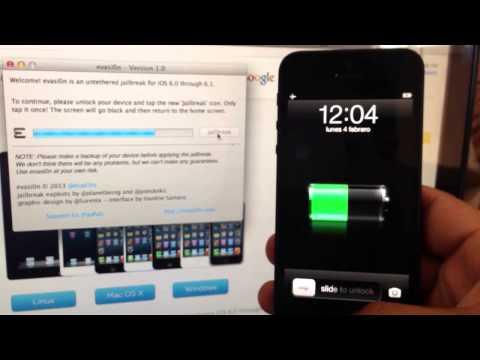 Tutorial Para Hacer el Jailbreak al iPhone 5/iPad/iPad Mini/iPod Touch en iOS 6 usando Evasi0n Tool