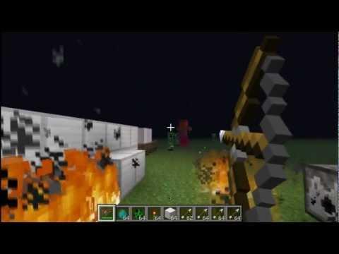 Видео как сделать лук Майнкрафт