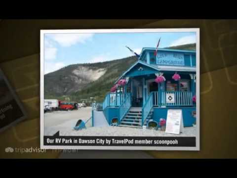 Tok to Dawson City, Yukon via Top of the World Hwy - Dawson City, Canada
