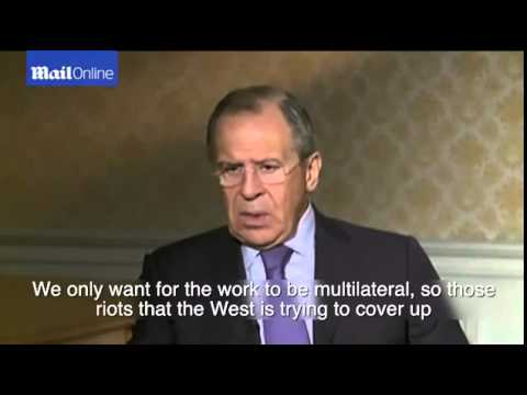 'Russia has no intention of sending troops to Ukraine' says Lavrov