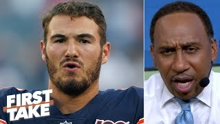 Mitchell Trubisky has 'got to show up and show out' for the Bears - Stephen A. | First Take