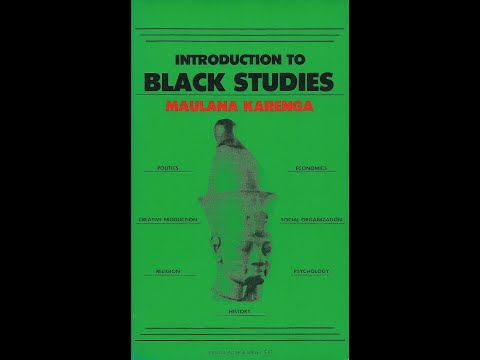 Maulana Karenga Relevance of Black Studies 5 29min