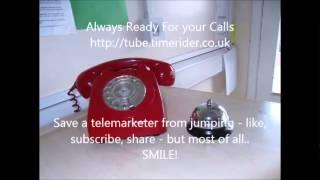 Telemarketer catches me locked in the cupboard. Best telemarketer prank calls ever!