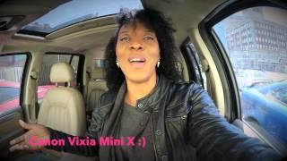 Canon Vixia Mini X & Kinky hair issues - Kinks & Coffee Season1 Ep 1