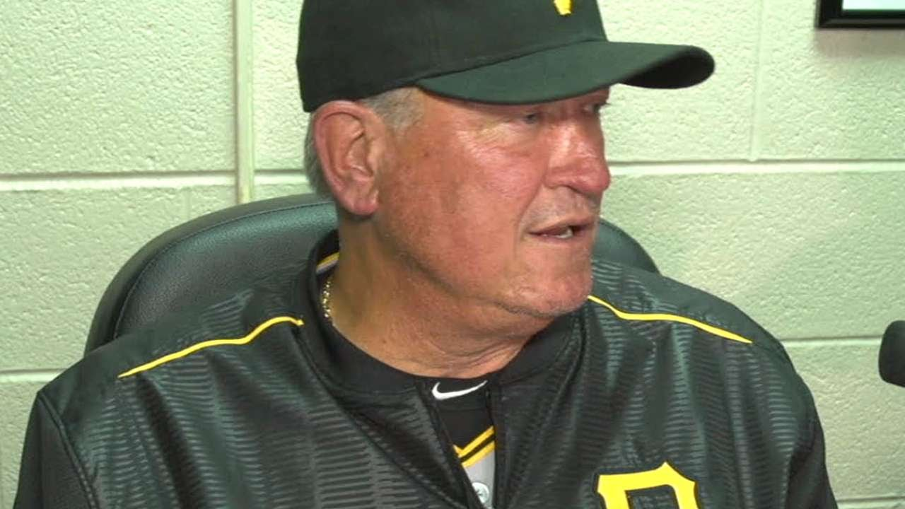 PIT@CWS: Hurdle discusses Cole's start, win streak