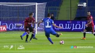 هدف الهلال الأول ضد الرائد (ياسر الشهراني) في الجولة 9 من دوري جميل