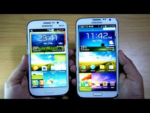 Samsung Galaxy GRAND DUOS I9082 Unboxing & Hands on Review HD - Gadgets Portal SPECIAL