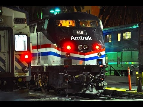 Amtrak 145 Phase III P42DC - Night Surfliner