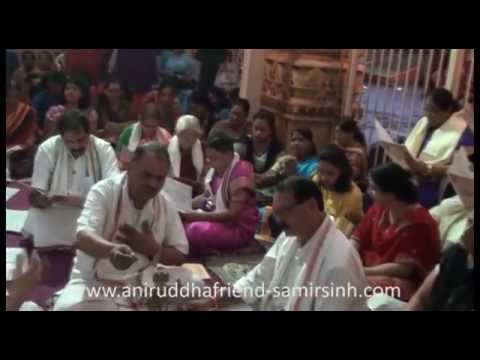 Shree Rudrabhishek seva at Shree Aniruddha Gurukeshetram - 28 July 2014