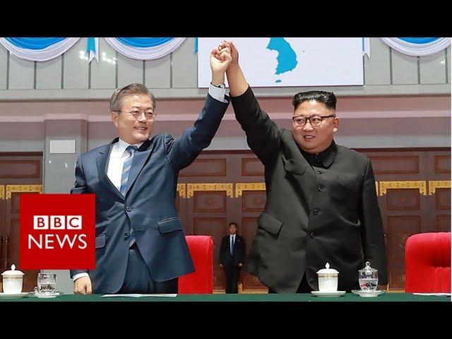 Peace on the Korean peninsula? - BBC News