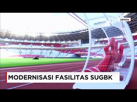 Keren & Canggih Fasilitas Stadion Utama Gelora Bung Karno - GBK Terbaru