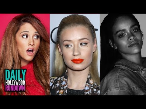 Ariana Grande, Iggy Azalea, Katy Perry Read Mean Tweets - Rihanna's FourFiveSeconds Video (DHR)