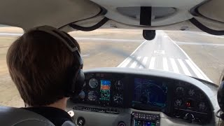 Download Cirrus SR22 Landing On Runway 09 In Gulf Shores, AL (KJKA) 3Gp Mp4