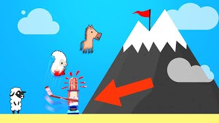 FIRST PERSON TO GET TO THE TOP WINS! (Ultimate Chicken Horse)