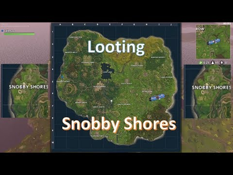 Fortnite   Looting Snobby shores