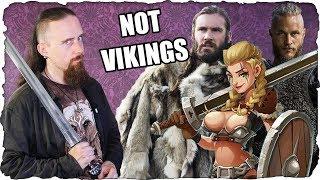 "Movie / Video Game ""Vikings"" - Hilariously Wrong!"