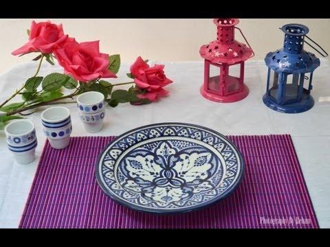 فن تزيين المائدة - 31 مطبخ منال العالم