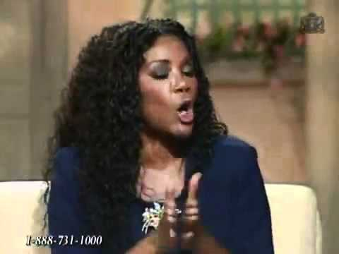 Juanita Bynum preached on TBN