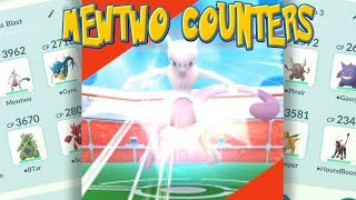 BEAT MEWTWO FAST!! TOP MEWTWO COUNTERS, 100 IV and BATTLE PARTIES in Pokemon Go