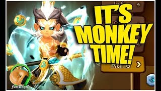 SUMMONERS WAR : Light Monkey King RTA Play Day!