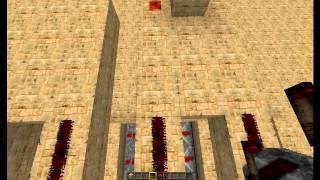 Замок в minecraft minecraft кодовый замок