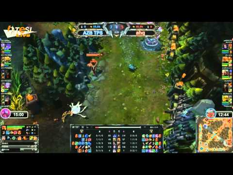 ahq e-Sports vs Azubu TPS game 2 - TeSL 2013, week 8