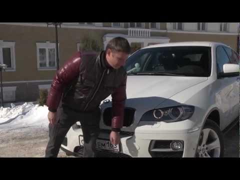 Тест BMW X6 рестайлнг 2012