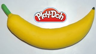 Play Doh Banana: How to Make a Banana