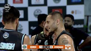 Mumbai Heroes v Hyderabad Ballers - Conference B - 3BL S02 R02