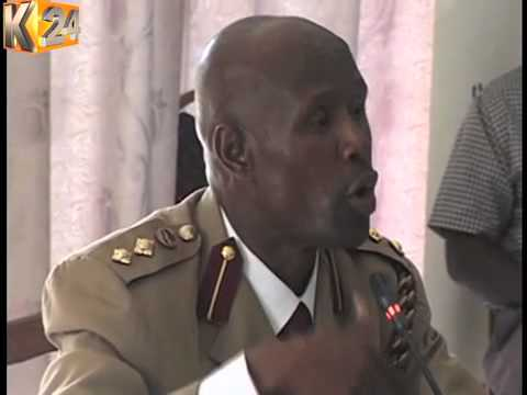 Francis Looli, A Senior Superintendent Of Police,  Faces Police Vetting Panel