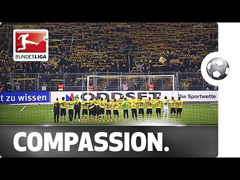 Emotional Scenes in Dortmund - Players & Fans Mourn Tragic Loss of a Fan