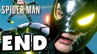 Spider-Man - PS4 Gameplay Walkthrough Part 28 - ENDING! Final Doctor Octopus Boss Fight!
