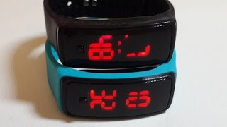 Sport LED Watches Candy Color Silicone Rubber Touch Screen Digital Watches Bracelet Wristwatch
