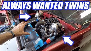 The AWD S10's Turbos Are ON!  BIG Problems And Solutions in Building The Ultimate Truck Ep4.