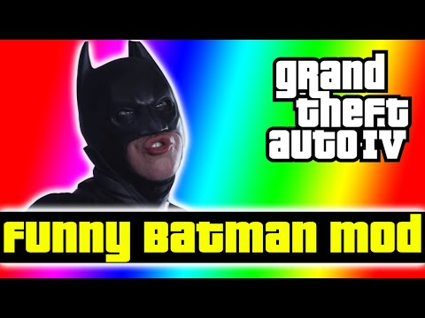 GTA Funny Moments - TROLLING PEOPLE AS BATMAN! ( GTA 5 PC Mod Prep Ep. 3 )