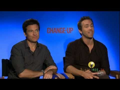 "The Change Up - Jason Bateman  Ryan Reynolds talk about Porn, Canadians and ""body switching"" movies"