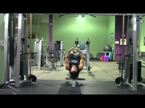 Decline Cable Fly - HASfit Lower Chest Exercise Demonstration - Chest Fly - Cable Flys Pectoral Fly
