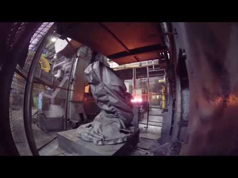 Comau Robots in Hot Forming application – Line 2