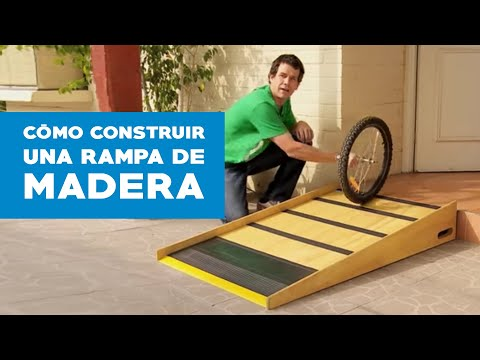 C mo construir una rampa de madera youtube for Como aislar una pared del ruido
