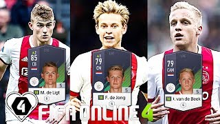 FIFA ONLINE 4: TEST DÀN TEAM AJAX Amsterdam 2019 ĐẦY KHÍ THẾ - ShopTayCam.com