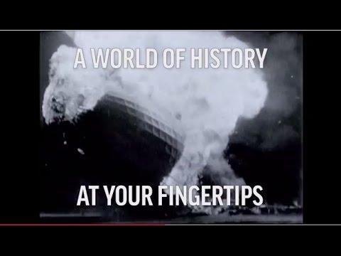 На YouTube появятся миллионы минут исторических архивных видео