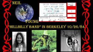 NEIL YOUNG- HILLBILLY BAND