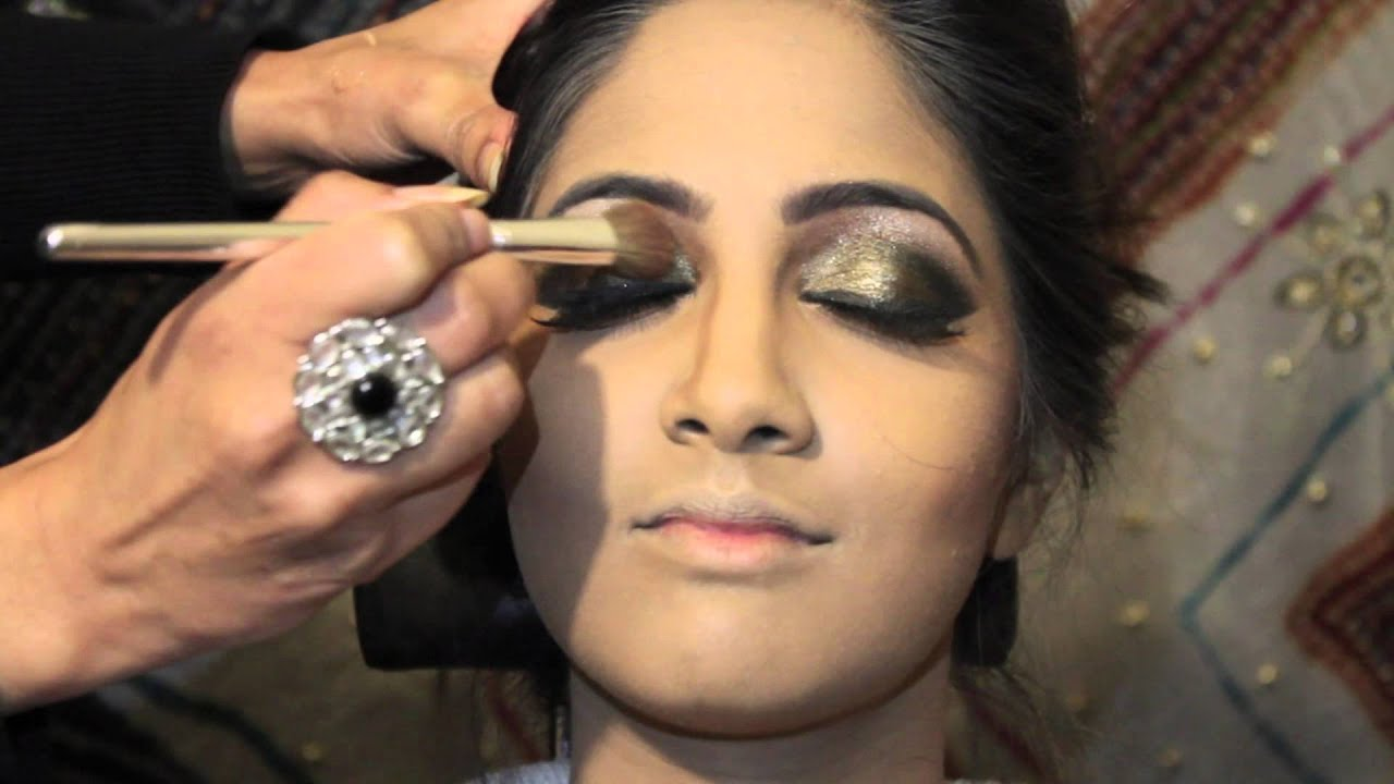 Asian Bridal Hair and Makeup Tutorial HD - YouTube